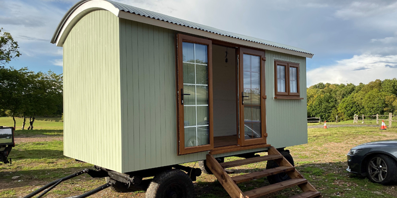 Example of a Shepherds Hut for sale in Sussex